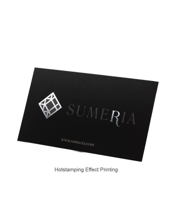 Hot stamp, business card printing