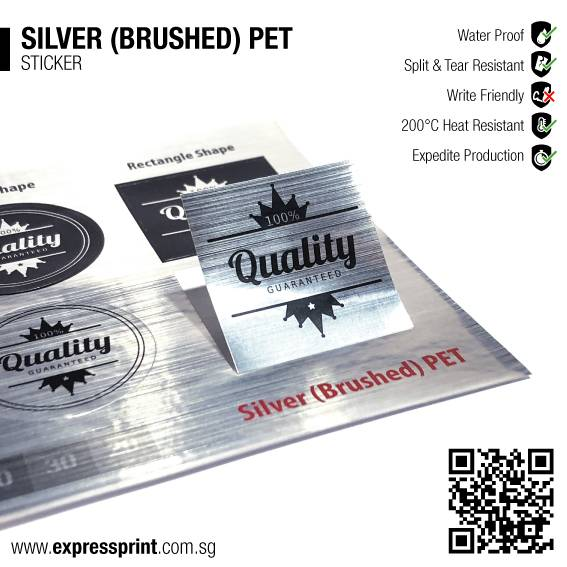 Silver-Brushed-PET