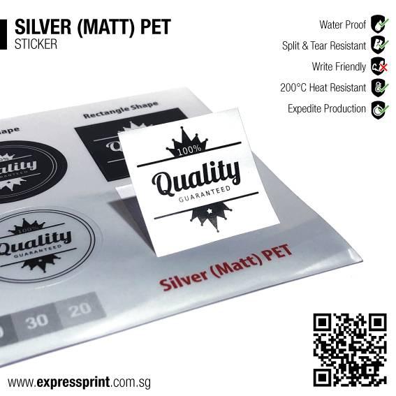 Silver-Matt-PET