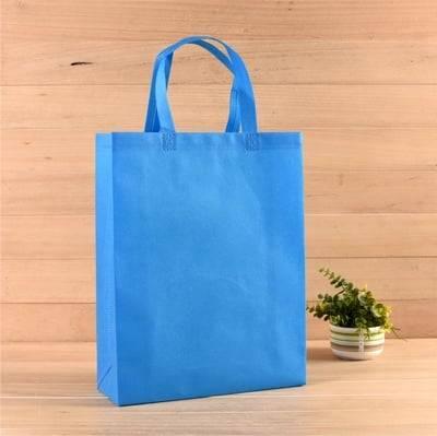 non-woven-bag-blue
