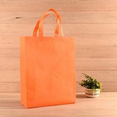 non-woven-bag-orange